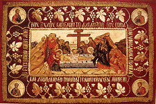 121. Holy Friday afternoon Great Vespers, Holy Friday evening Lamentations Service