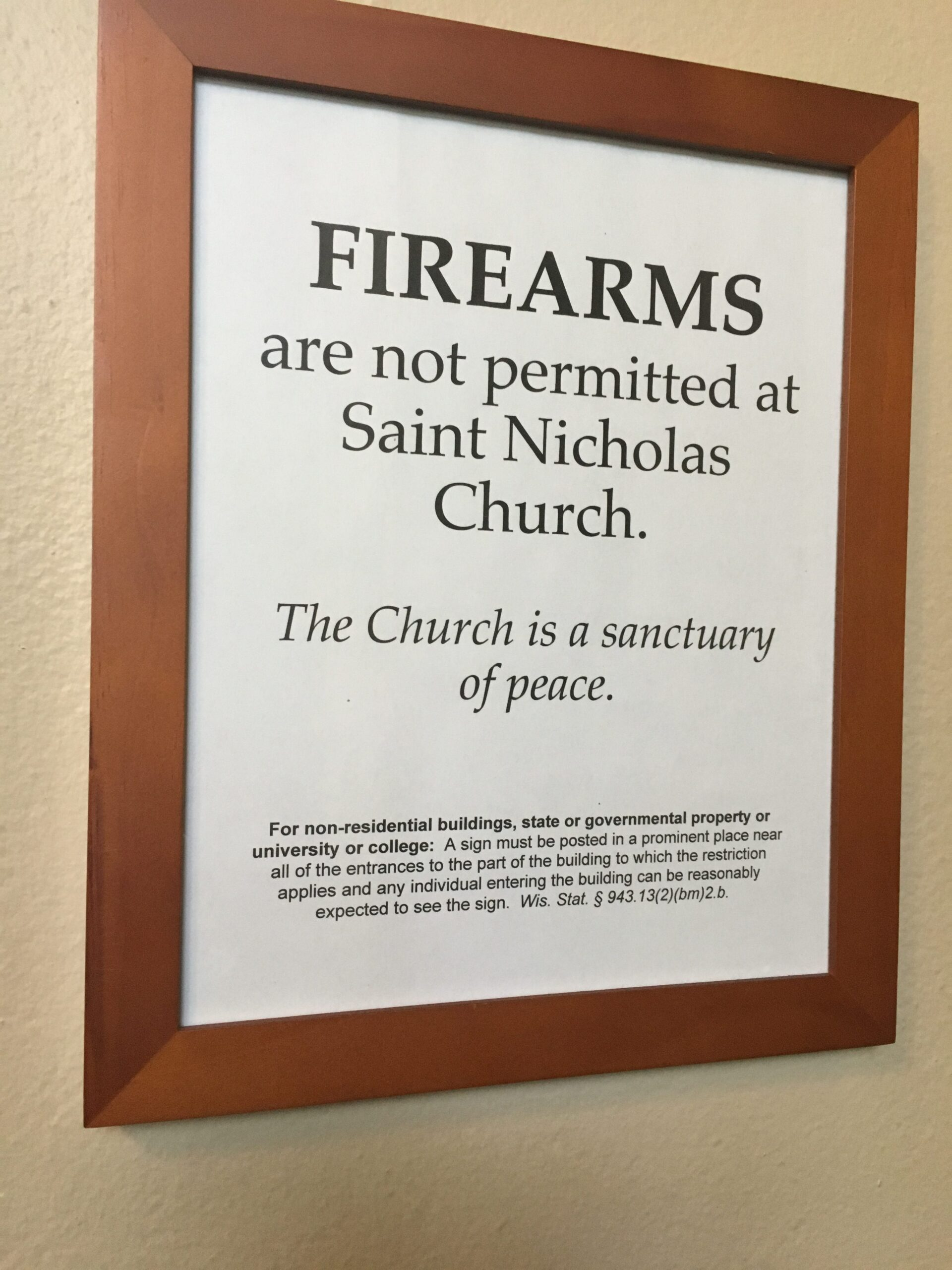 140. Guns in Church, Part One – 2009, Now, Statistics, Back in the Old Days