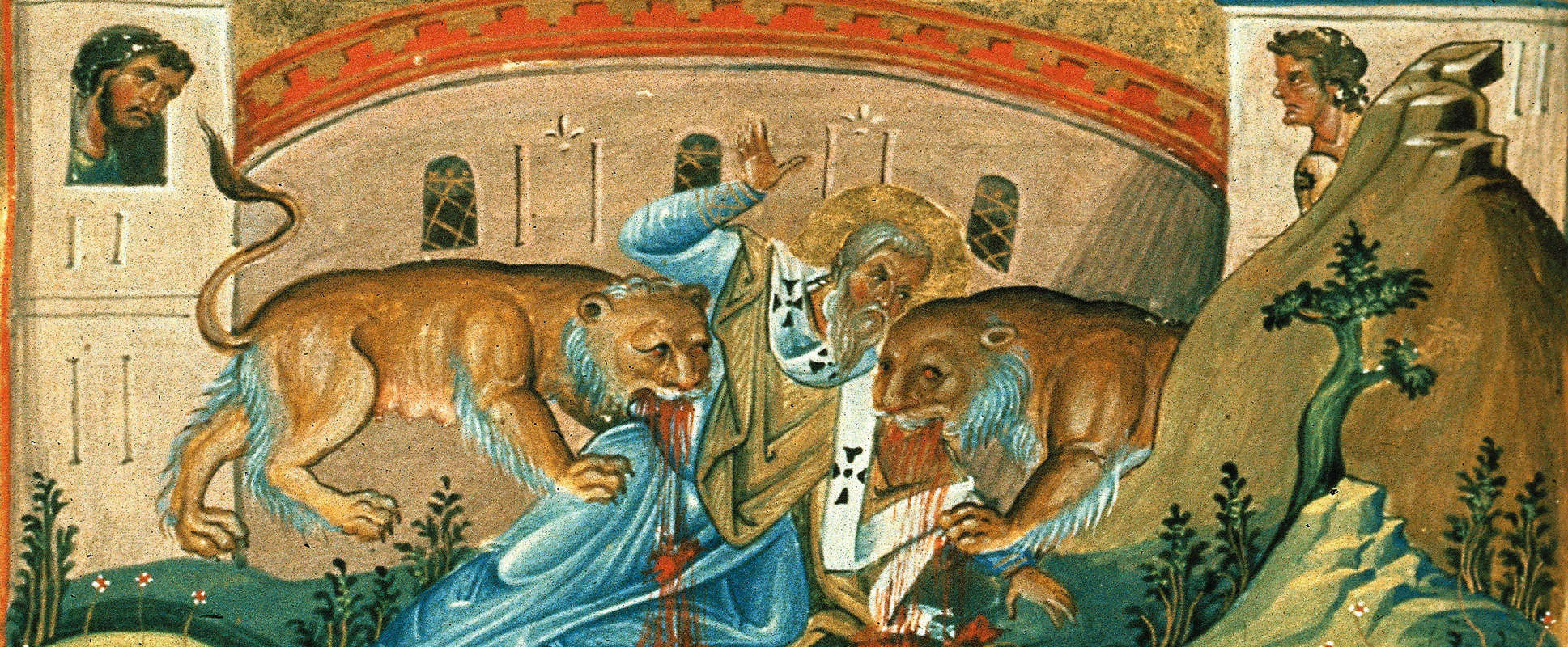 158 How the Hieromartyr Ignatius the God-bearer brought 2000 Evangelicals into the Orthodox Church